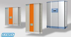Falowniki solarne firmy Delta serii Solivia RPI
