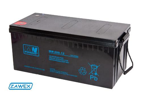 Dobór akumulatora - akumulator typu AGM