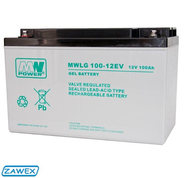 Dobór akumulatora - akumulator żelowy MWLG-100-12